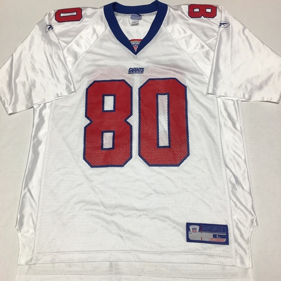 Reebok nfl Jeremy shockey New York giants jersey. M 5a9959979d20f030571898ae 386af7fe6